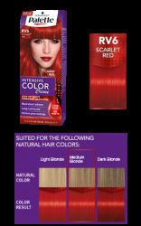 Palette Intensive Color Creme farba na vlasy RV6 šarlátová a0a04f9c763