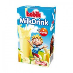Bobík Milk drink banán 250 ml